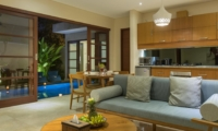 Living Area with Pool View - Beautiful Bali Villas - Seminyak, Bali