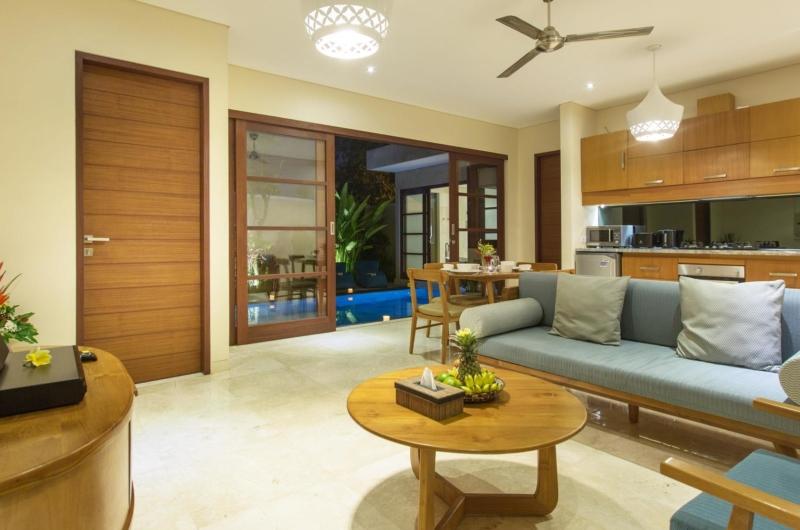 Indoor Lounge Area - Beautiful Bali Villas - Seminyak, Bali