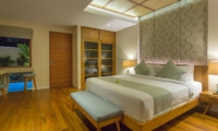 Bedroom with Wooden Floor - Beautiful Bali Villas - Seminyak, Bali