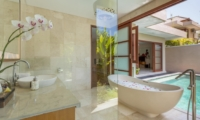 En-Suite Bathroom with Bathtub - Beautiful Bali Villas - Seminyak, Bali