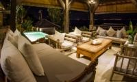 Living Area – Bersantai Villas Villa Ganesha – Nusa Lembongan, Bali
