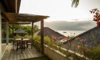 Outdoor Seating Area - Bersantai Villas Villa Kundalini - Nusa Lembongan, Bali