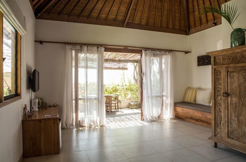 Seating Area - Bersantai Villas Villa Rama - Nusa Lembongan, Bali