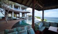 Pool Side Seating Area - Bidadari Estate - Nusa Dua, Bali