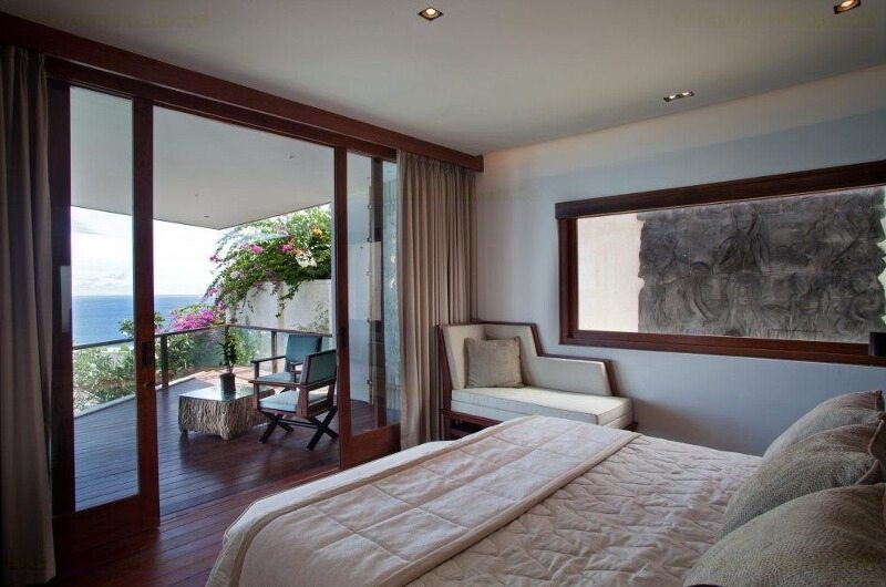 Bedroom and Balcony - Bidadari Estate - Nusa Dua, Bali