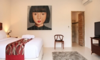 Bedroom with TV - Briana Villa - Batubelig, Bali