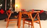 Living and Dining Area - Briana Villa - Batubelig, Bali