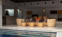 Pool Side Living Area - Bvilla Spa - Seminyak, Bali