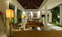 Living Area at Night - Casa Brio - Seminyak, Bali