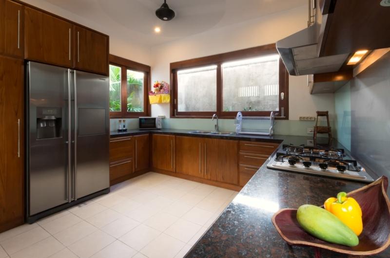 Kitchen Area - Casa Brio - Seminyak, Bali