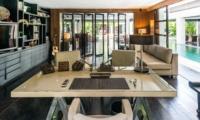 Living Area with TV - Casa Hannah - Seminyak, Bali