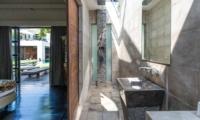 Bedroom with Pool View - Casa Hannah - Seminyak, Bali