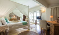 Bedroom with Study Table and TV - Casa Lucas - Seminyak, Bali