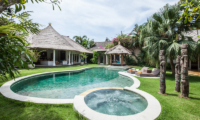 Gardens and Pool at Day Time - Casa Lucas - Seminyak, Bali