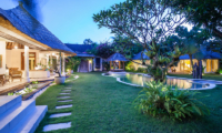Gardens and Pool at Night - Casa Lucas - Seminyak, Bali