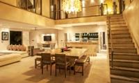 Living, Kitchen and Dining Area - Casa Mateo - Seminyak, Bali