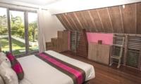 Bedroom and View - Casa Mateo - Seminyak, Bali
