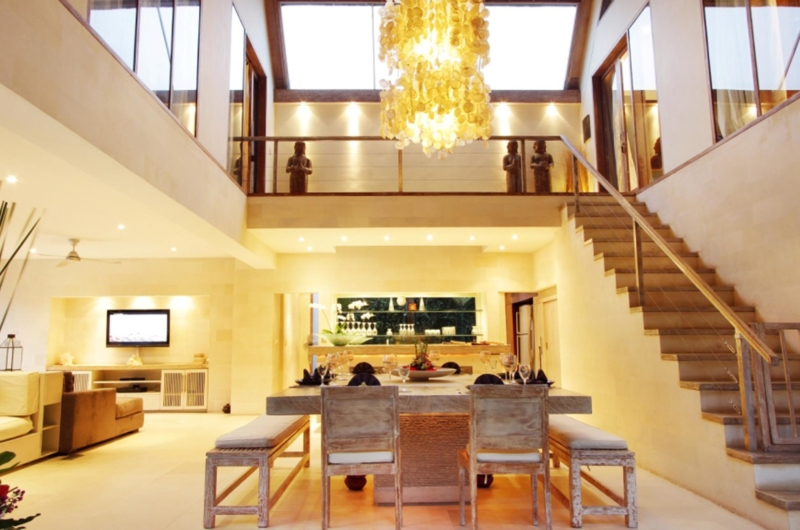 Dining Area with Up Stairs - Casa Mateo - Seminyak, Bali