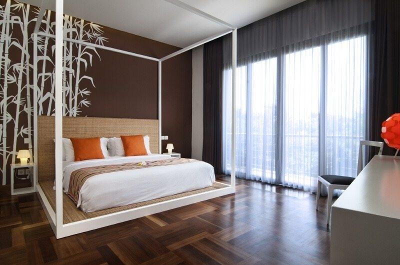 Bedroom with Study Area - Casa Cinta 1 - Batubelig, Bali