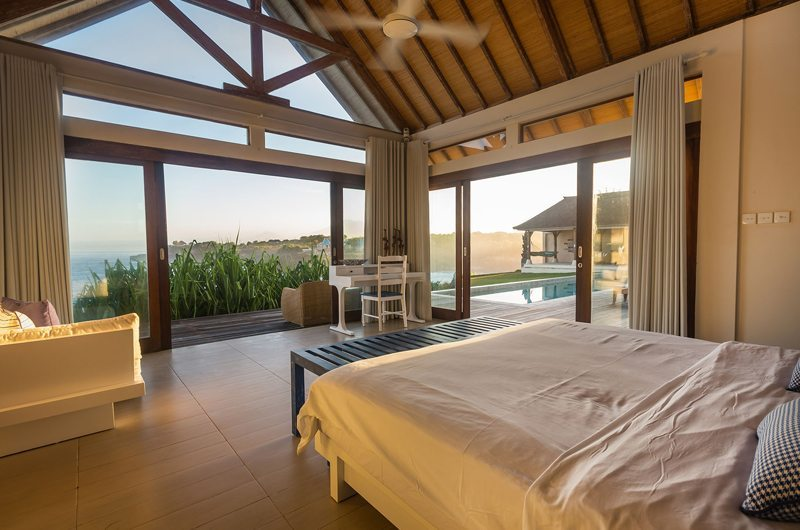 Bedroom with Sea View - Casa Del Mar - Nusa Lembongan, Bali