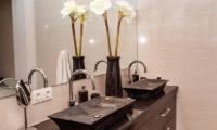 His and Hers Bathroom - Castaway - Nusa Lembongan, Bali