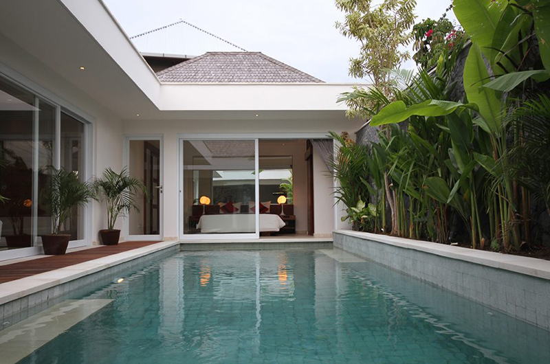 Bedroom with View - Chakra Villas - Villa Kalila - Seminyak, Bali