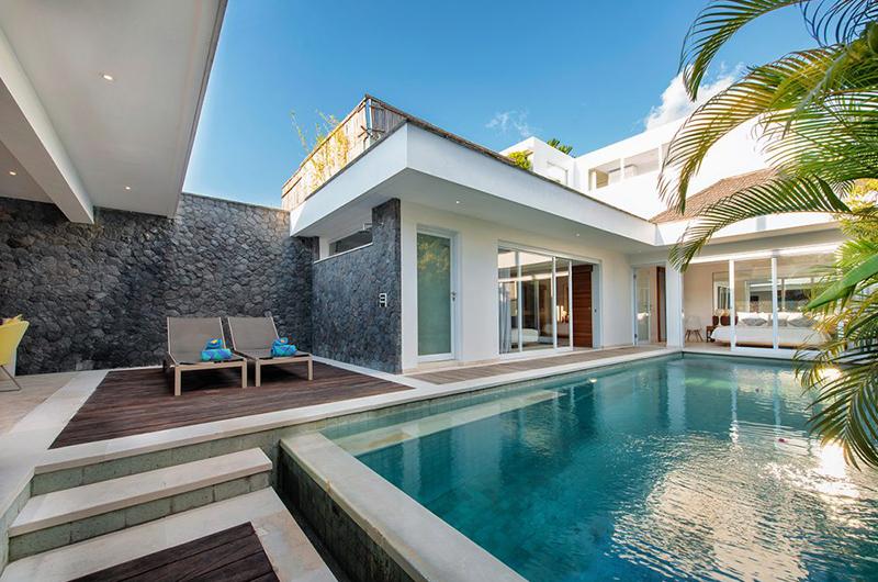 Reclining Sun Loungers - Chakra Villas - Villa Yasmee - Seminyak, Bali