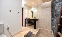 Bathroom with Mirror - Chakra Villas - Villa Yasmee - Seminyak, Bali