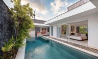 Pool Side - Chakra Villas - Villa Yasmee - Seminyak, Bali