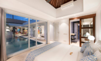 Bedroom with Pool View - Chakra Villas - Villa Yasmee - Seminyak, Bali