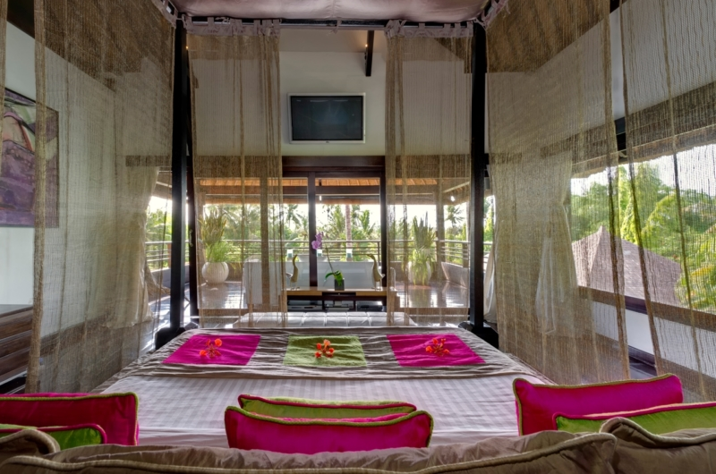 Bedroom and Balcony with View - Chalina Estate - Canggu, Bali