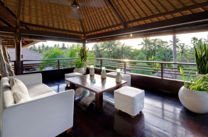 Lounge Area with View - Chalina Estate - Canggu, Bali