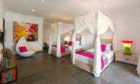 Twin Bedroom with Seating Area - Chalina Estate - Canggu, Bali