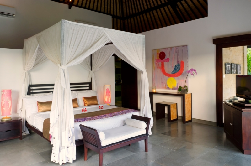 Bedroom with Side Table - Chalina Estate - Canggu, Bali