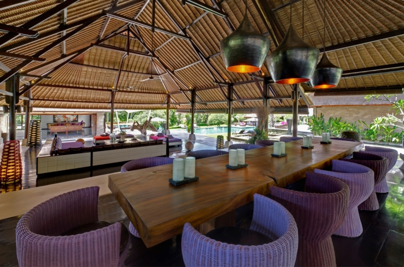 Living and Dining Area with View - Chalina Estate - Canggu, Bali