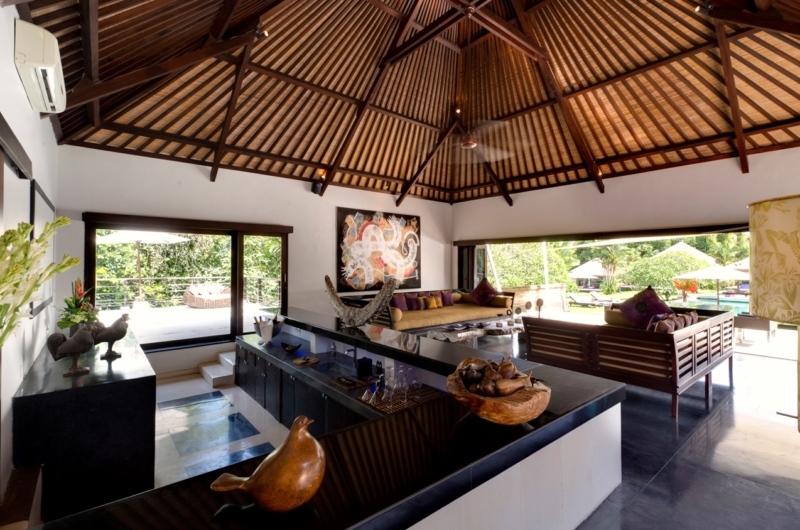 Living Area with View - Chalina Estate - Canggu, Bali