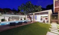 Gardens and Pool at Night - Chandra Villas 2 - Seminyak, Bali