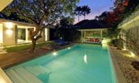 Pool at Night - Chandra Villas 2 - Seminyak, Bali