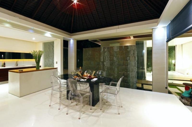 Kitchen and Dining Area - Chandra Villas 2 - Seminyak, Bali
