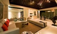 Living and Dining Area - Chandra Villas 2 - Seminyak, Bali