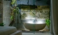 Bathtub at Night - Chandra Villas 2 - Seminyak, Bali