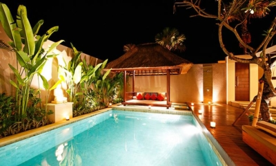 Swimming Pool at Night - Chandra Villas 7 - Seminyak, Bali