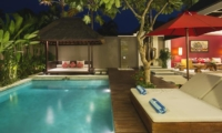 Pool Bale at Night - Chandra Villas 7 - Seminyak, Bali