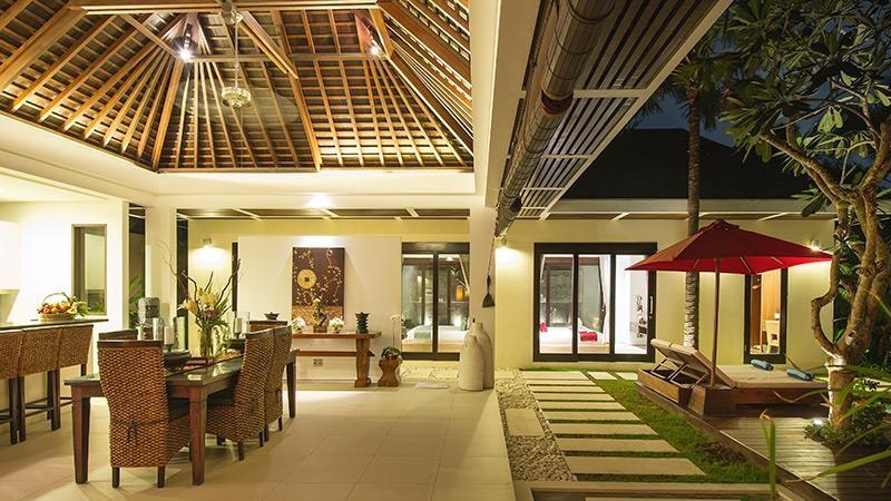 Dining Area - Chandra Villas 7 - Seminyak, Bali