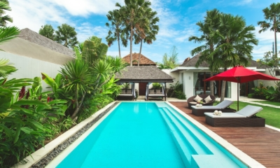 Gardens and Pool at Day Time - Chandra Villas 8 - Seminyak, Bali