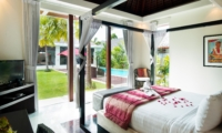 Bedroom with Pool View - Chandra Villas 8 - Seminyak, Bali