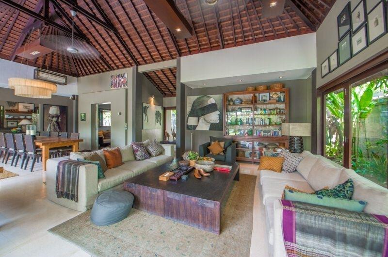 Living Area - Chimera Villas - Seminyak, Bali