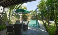 Pool Side Seating Area - Chimera Villas - Seminyak, Bali