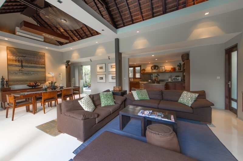 Indoor Living and Dining Area - Chimera Villas - Seminyak, Bali