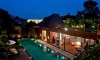 Pool at Night - Eko Villa Bali - Seminyak, Bali